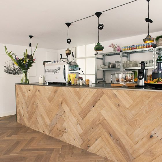 Inspiring Chevron And Herringbone Patterned Wood Designs